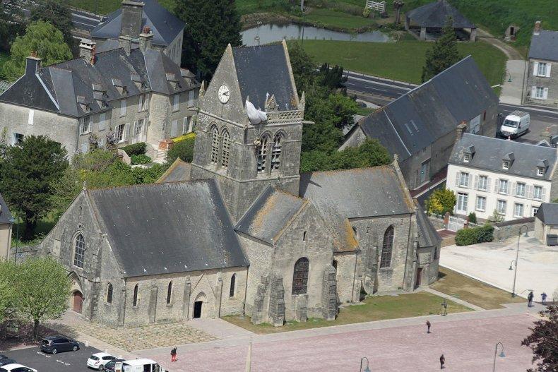 d-day normandy sainte-mere-eglise