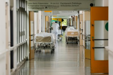 Empty Hospital Bed Germany