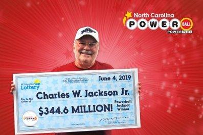 Jackson North Carolina Jackpot Winner Poweball