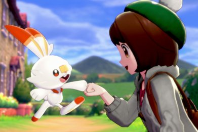 pokemon sword shield scorbunny release date
