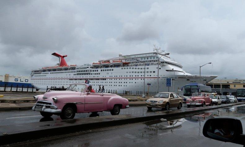 Cuba Cruise Ship