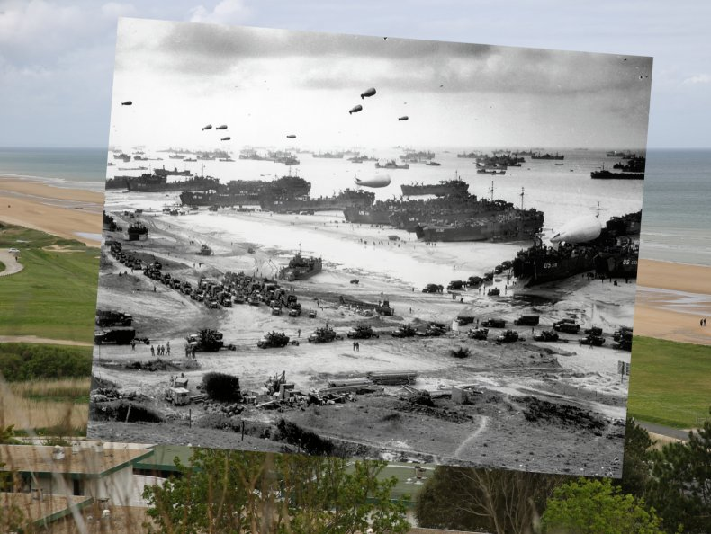 jim radford ed sheeran normandy d-day