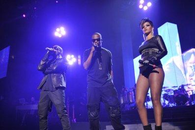 Kanye West Jay Z Rhianna