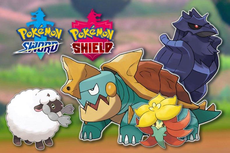 pokemon sword shield new pokemon