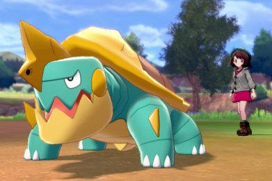 pokemon sword shield new direct drednaw