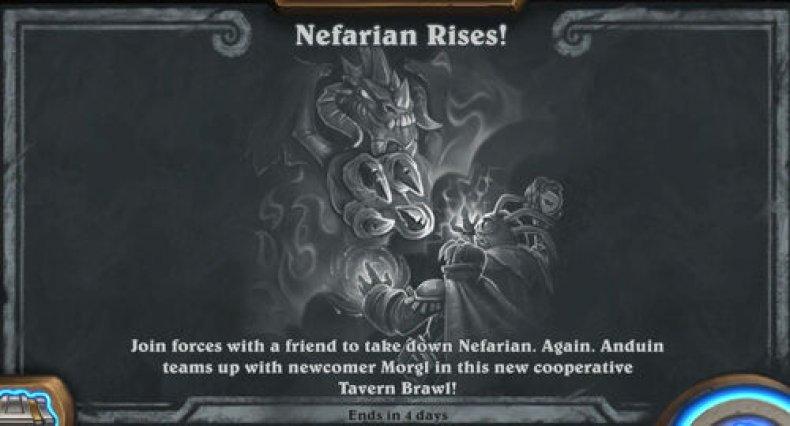 hearthstone tavern brawl guide nefarian rises