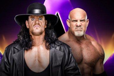 wwe super showdown undertaker goldberg