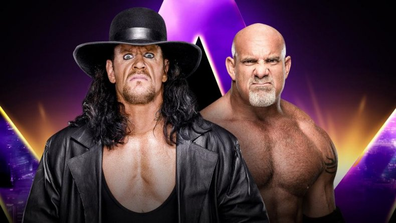 wwe super showdown undertaker goldberg