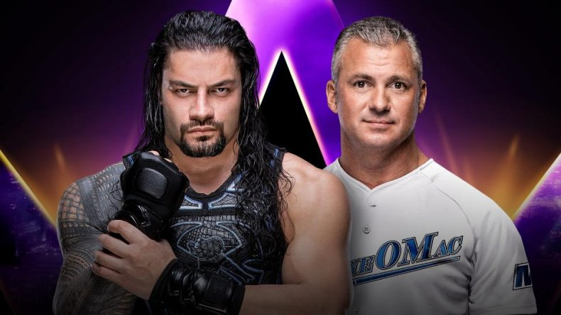 super showdown roman reigns shane
