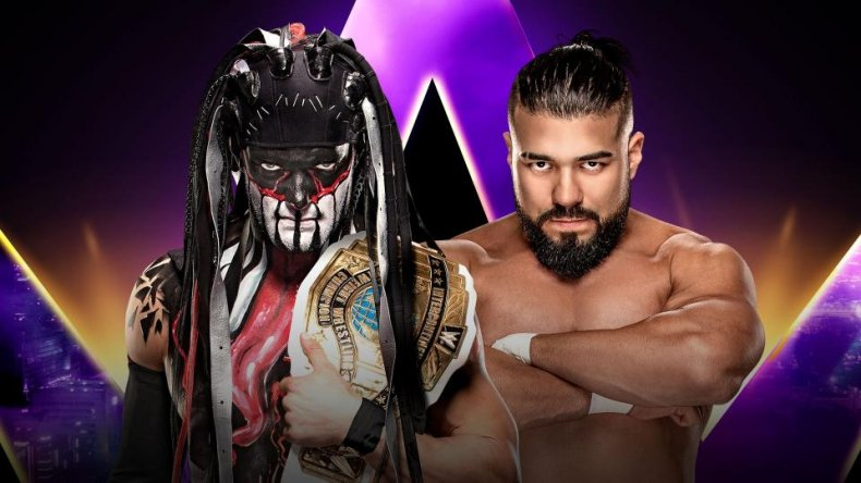 super showdown finn balor andrade