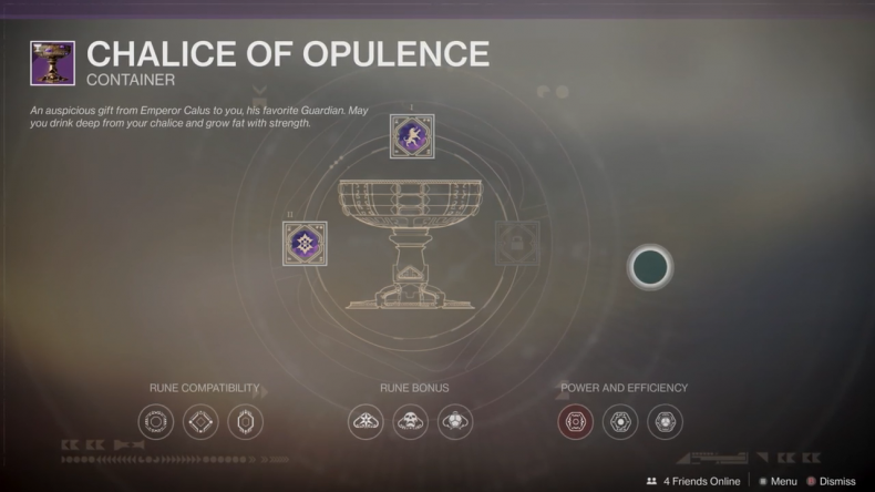 destiny 2 chalice of opulence