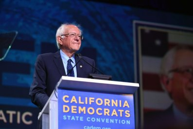 Bernie Sanders in California
