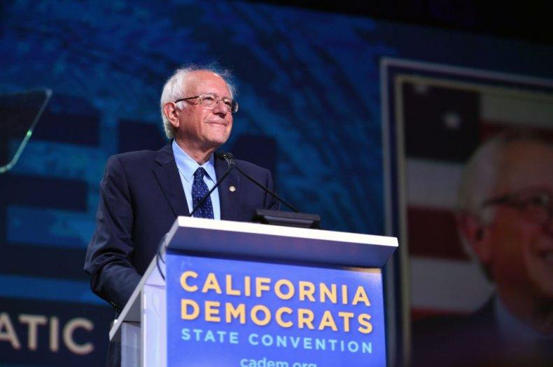 Bernie Sanders in California