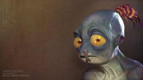 oddworld soulstorm lorne lanning interview abe