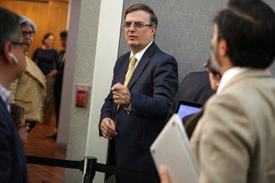 Mexican Foreign Affairs Secretary Marcelo Ebrard
