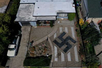 San Francisco Bay Area, el Sobrante swastika