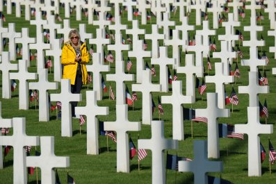 D-Day, anniversary, World War Two, cemetery, France