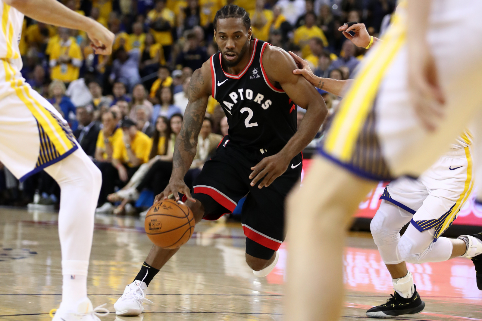 What channel is Raptors vs. Warriors on today? Game 6 time ...