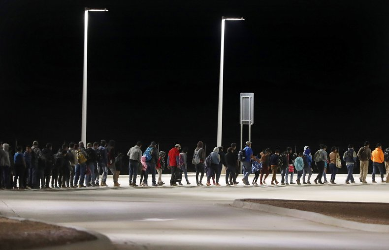 Border, migrants, apprehended, U.S.-Mexico