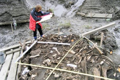 Archaeological Site Yana River