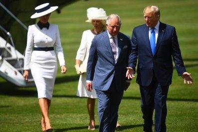 trump-charles-uk-visit-climate-lie
