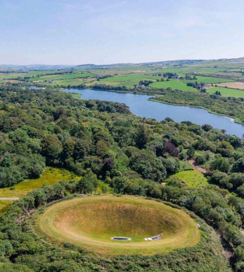 Irish Sky Garden and Crater