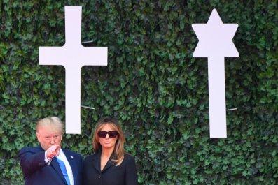 Trump D-Day Fox Mueller Pelosi