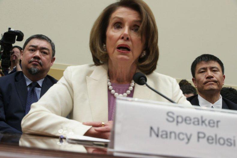 Nancy Pelosi Tiananmen Square Hearing