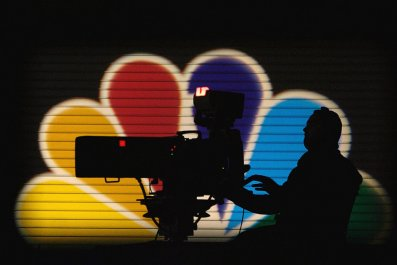 MSNBC camera operator