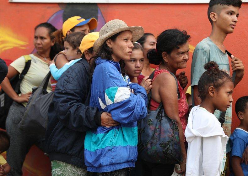 Venezuela, Refugee crisis, migration
