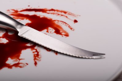 knife, blood, cannibalism