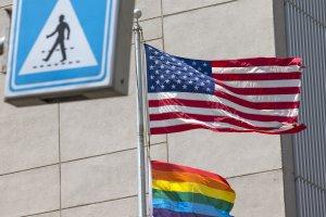 US Embassy, Pride Flag