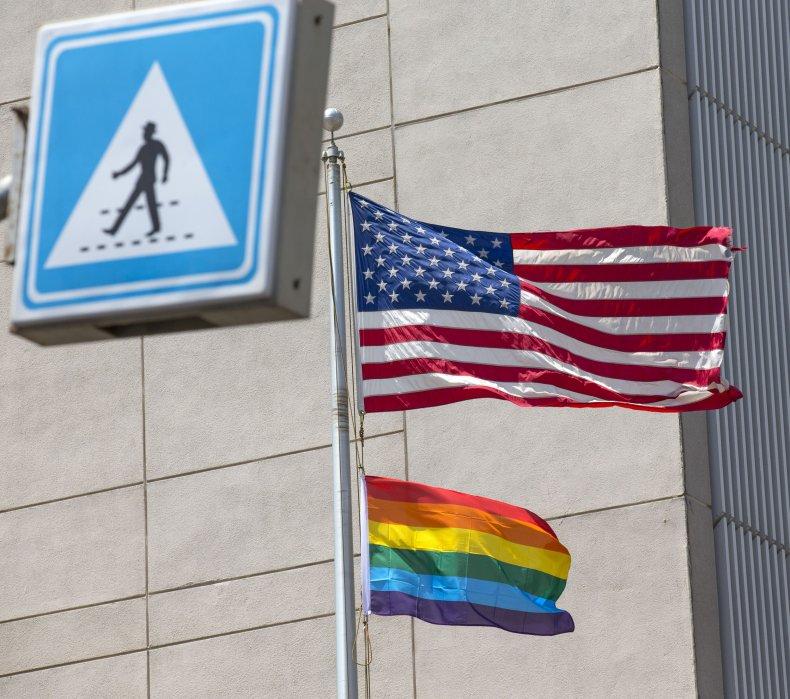U.S. Embassy, Pride Flag