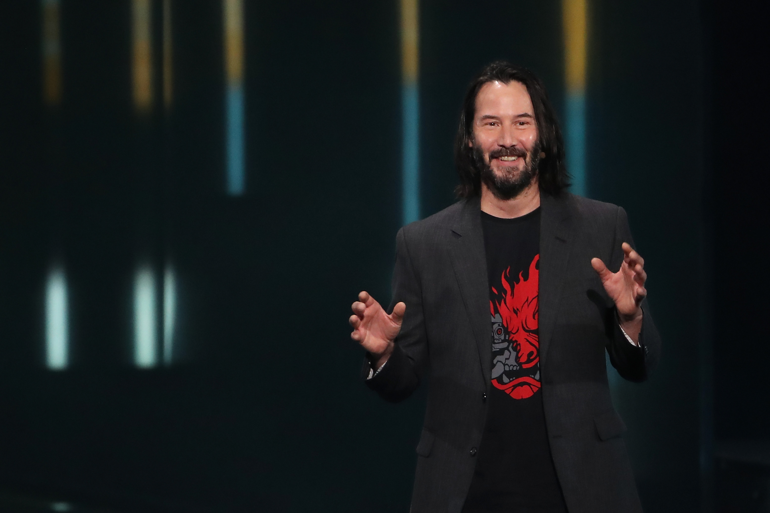 Image result for keanu reeves e3 2019