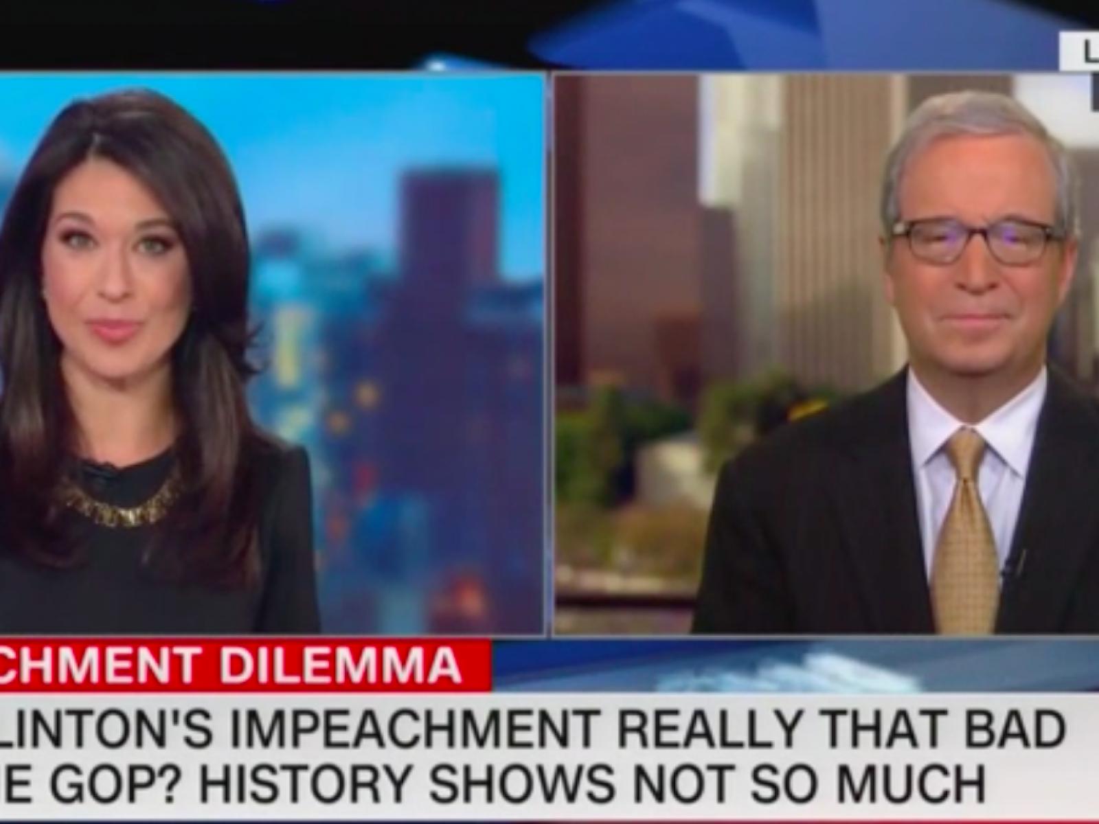 CNN Analyst Predicts Trump Impeachment Won't Hurt Democrats Much in