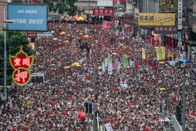 Hong Kong, China, extradition, protests, state media