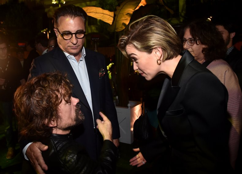 Peter Dinklage 50th Birthday Emilia Clarke