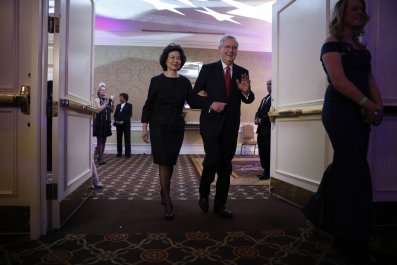 Mitch McConnell Elaine Chao blasted ethics experts