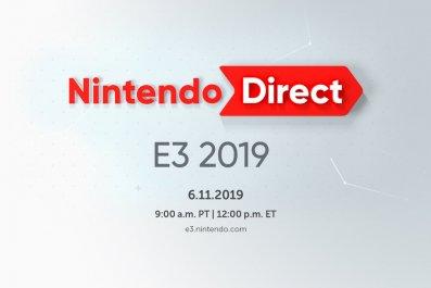 nintendo direct e3 2019 online start time
