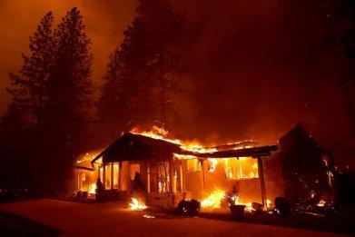 Paradise California wildfire Camp Fire