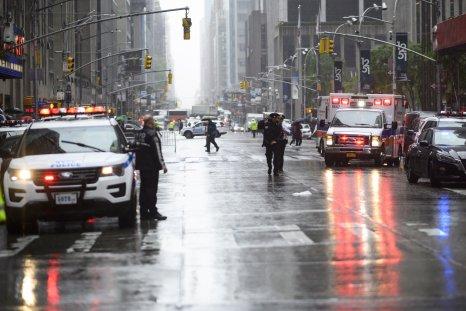 NYC helicopter crash midtown Manhattan