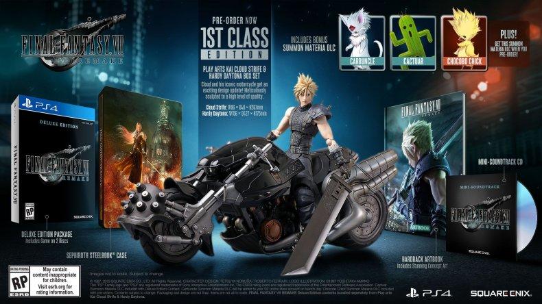 ff7 remake 1st class edition