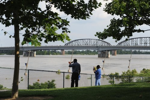 Mississippi River Flooding: High Water Levels Stop Barge