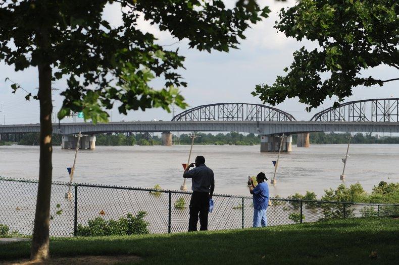 Mississippi River, Flood, St Louis