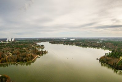Lake Wylie South Carolina Flooding Dam