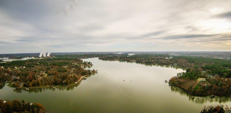 Lake Wylie South Carolina Flooding Dam