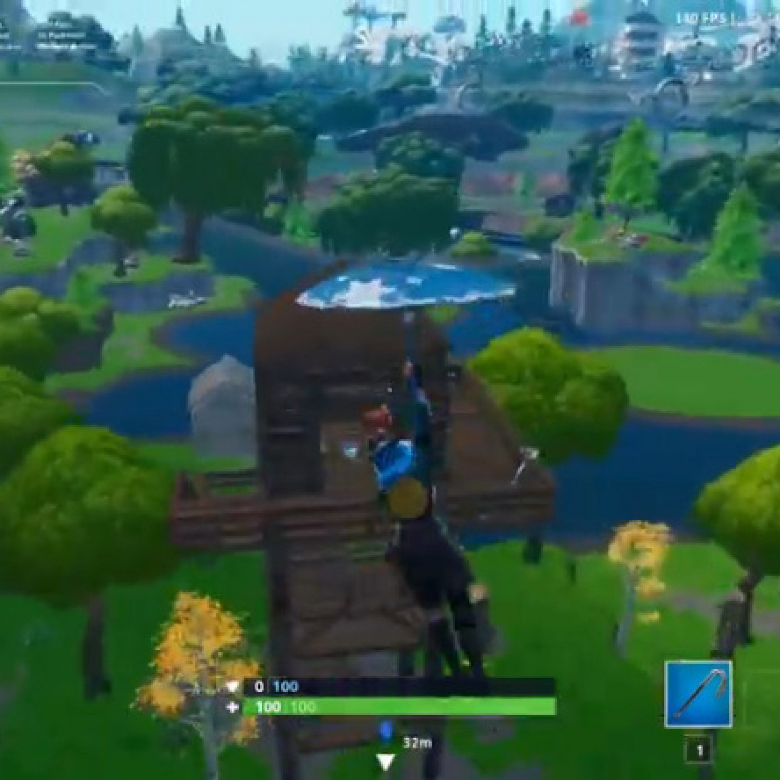 Fortnite Fortbyte 78 Location Found Within A Ranger