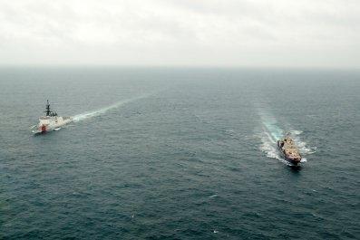 Russia, US, Coast, Guard, Arctic