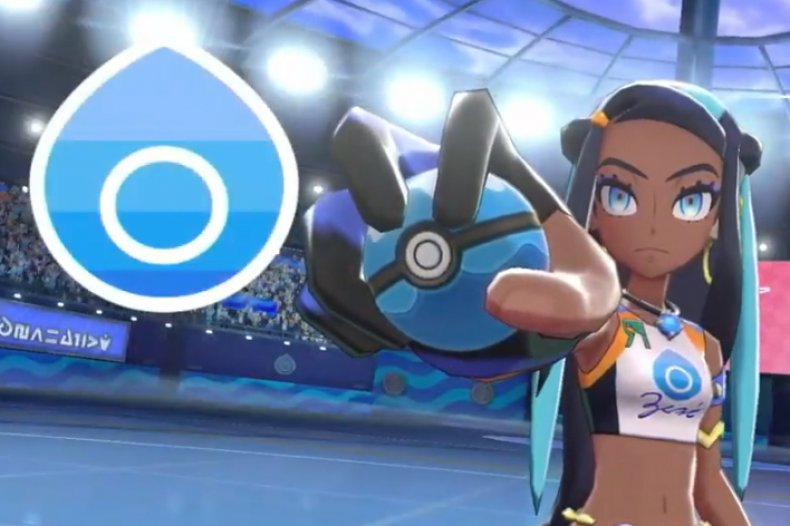 pokemon sword shield water gym nessa