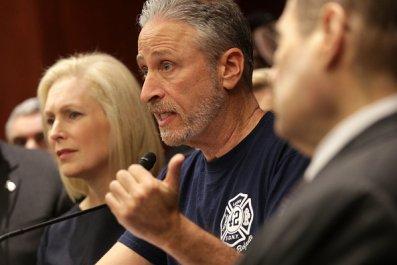 jon stewart 9/11 victims fund